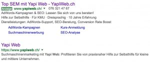 Yapi Web - SERP